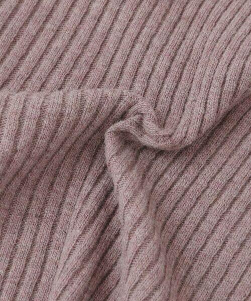 KBF / ケービーエフ ニット・セーター | WEB限定 リブクルーWIDEニット | 詳細22
