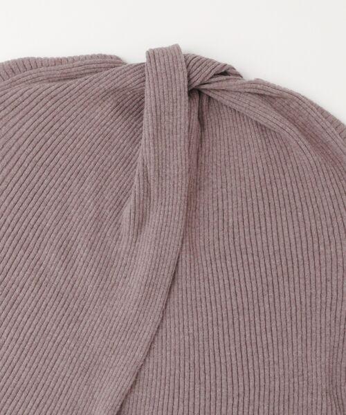 KBF / ケービーエフ ニット・セーター | WEB限定 リブクルーWIDEニット | 詳細24