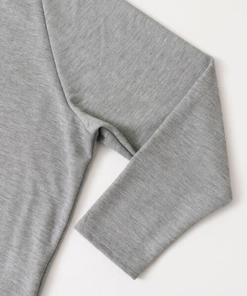 KBF / ケービーエフ Tシャツ | KBF+ ベルト付きハイネックトップス | 詳細8