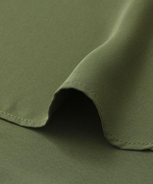 KBF / ケービーエフ Tシャツ | KBF+ バックタックブラウス | 詳細10