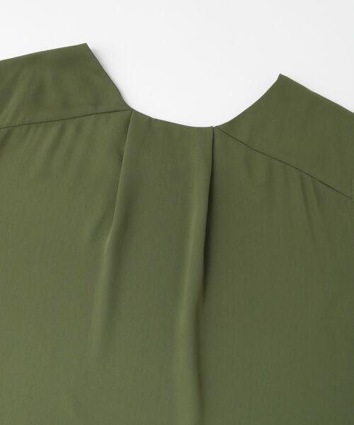 KBF / ケービーエフ Tシャツ | KBF+ バックタックブラウス | 詳細11