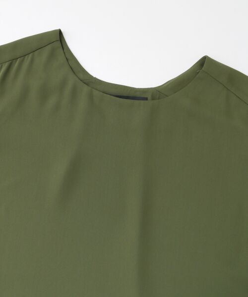 KBF / ケービーエフ Tシャツ | KBF+ バックタックブラウス | 詳細7