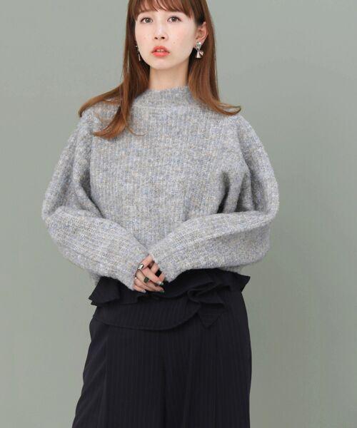 KBF / ケービーエフ ニット・セーター | ブークレードルマンニット | 詳細14