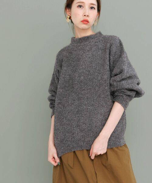KBF / ケービーエフ ニット・セーター | ブークレードルマンニット | 詳細5
