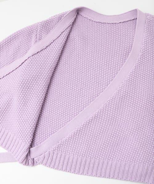 KBF / ケービーエフ ニット・セーター | 2wayカシュクールニット | 詳細4