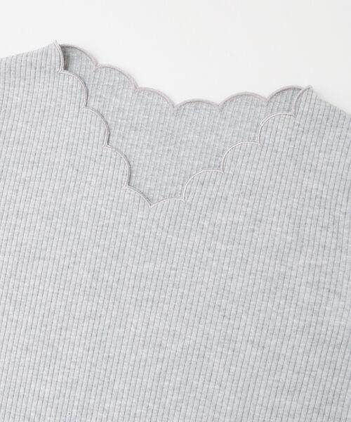 KBF / ケービーエフ Tシャツ | KBF+ スカラップネックTEE | 詳細7