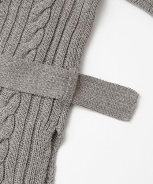 KBF / ケービーエフ ニット・セーター | KBF+ カシュクールガウンニット | 詳細14