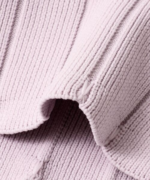 KBF / ケービーエフ Tシャツ | スカラップリブブルオーバー | 詳細10