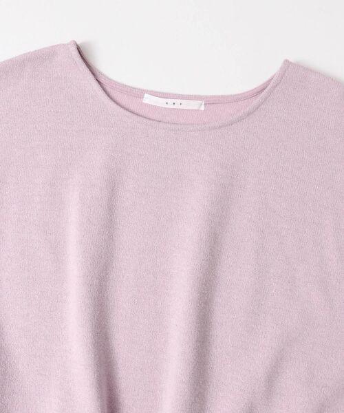 KBF / ケービーエフ Tシャツ | スカラップリブブルオーバー | 詳細7