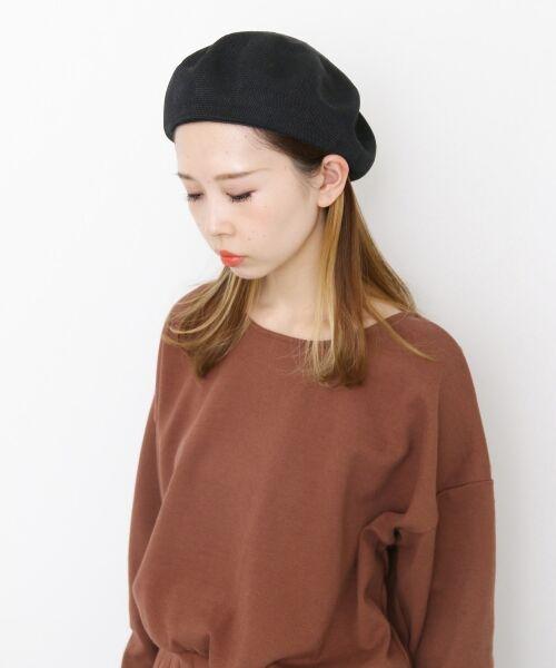 KBF / ケービーエフ ハンチング・キャスケット・ベレー帽 | サーモベレー(BLACK)