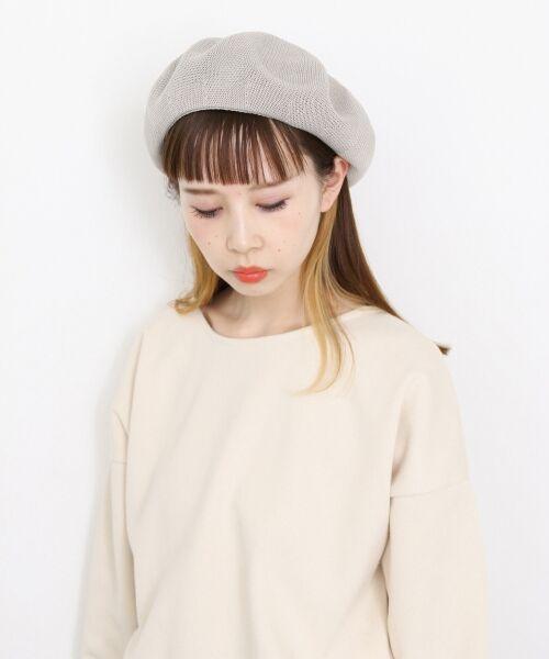 KBF / ケービーエフ ハンチング・キャスケット・ベレー帽 | サーモベレー(GRAY)