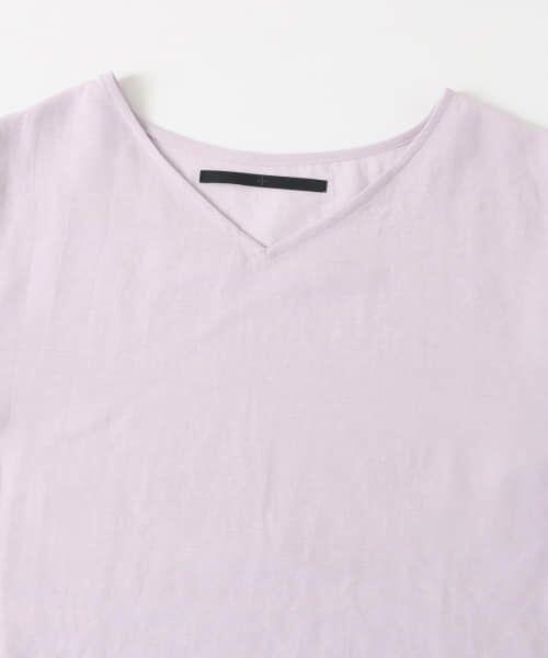 KBF / ケービーエフ Tシャツ | KBF+ 袖タックボリュームシアートップス | 詳細20