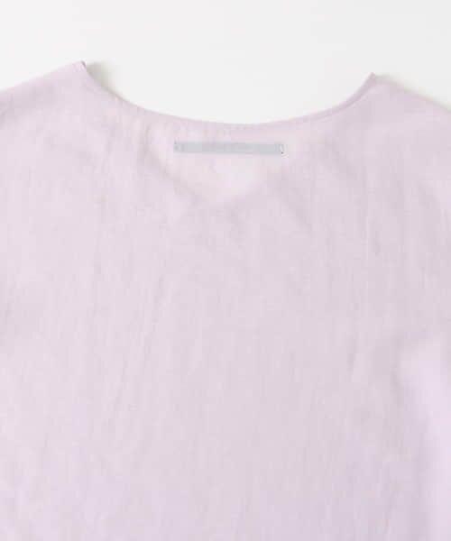 KBF / ケービーエフ Tシャツ | KBF+ 袖タックボリュームシアートップス | 詳細22