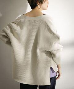 春らしいカラーと前後差のあるディテールが目を惹くカーディガン。定番アイテムだからこそ、ひねりのあるデザインを選びたいですね。綿を含むしっかりとした素材で仕上げているのでロングスパンで着て頂けますよ。羽織りとしてだけでなく、ボタンを閉じてトップスにしてもOK。着抜かせても可愛いですよ。<br><br>※この商品は、長時間強い日光や照明を受けますと、変色するおそれがあります。ご着用や保管の際は、充分にご注意ください。