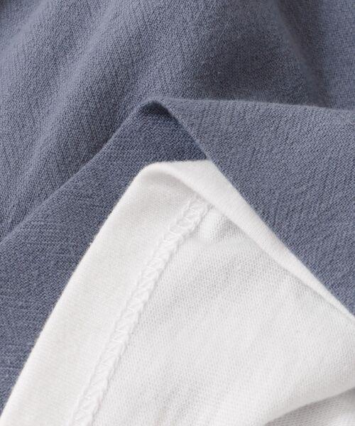 KBF / ケービーエフ Tシャツ | ドッキングビスチェカットソー | 詳細19