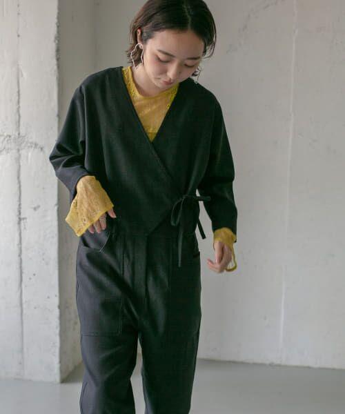 KBF / ケービーエフ シャツ・ブラウス   刺繍レースプルオーバー(LIME)