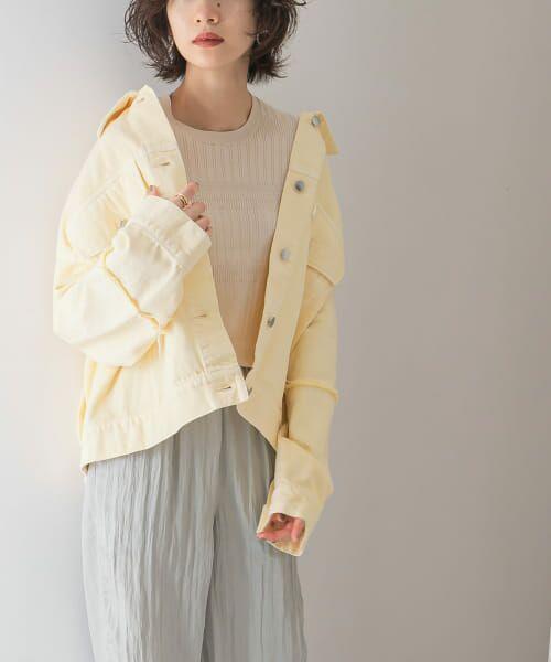 KBF / ケービーエフ ニット・セーター   ランダムリブニット   詳細14