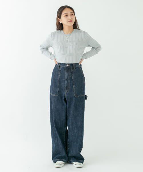 KBF / ケービーエフ ニット・セーター   ランダムリブニット   詳細4