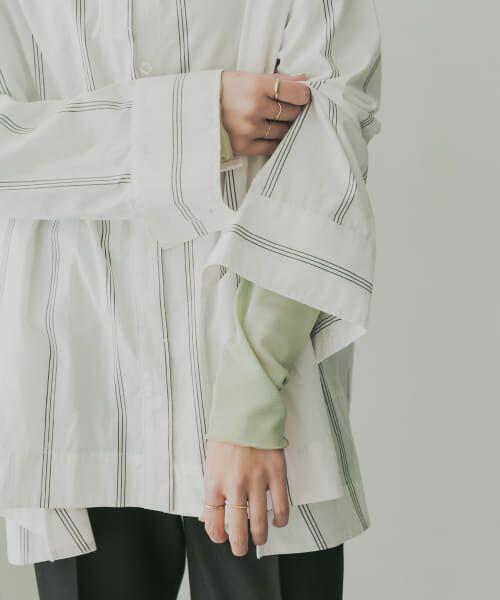 KBF / ケービーエフ Tシャツ   KBF+ ハイネックシアーインナー(GREEN)