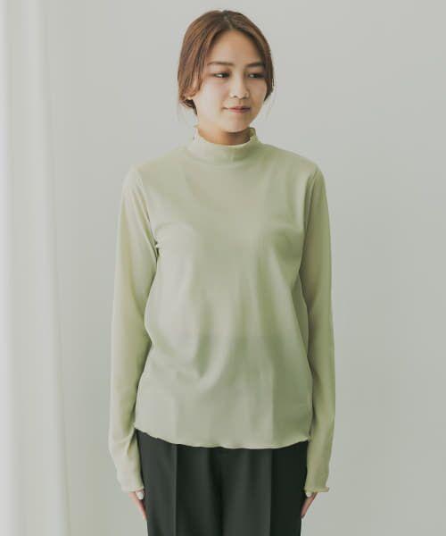 KBF / ケービーエフ Tシャツ   KBF+ ハイネックシアーインナー   詳細6