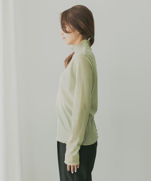KBF / ケービーエフ Tシャツ   KBF+ ハイネックシアーインナー   詳細7
