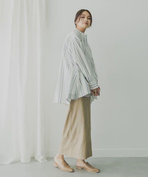 KBF / ケービーエフ シャツ・ブラウス   KBF+ マルチストライプシャツ   詳細5