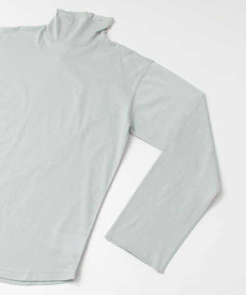 KBF / ケービーエフ Tシャツ | ハイネックペーパーカットソー | 詳細12