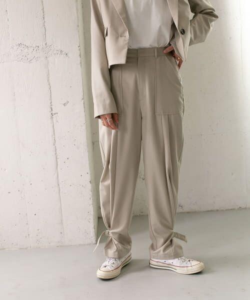 KBF / ケービーエフ その他パンツ   ベルト付ジョガーパンツ   詳細3