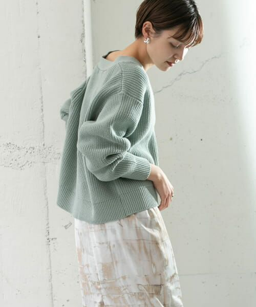 KBF / ケービーエフ ニット・セーター   ワイドニットカーディガン   詳細1