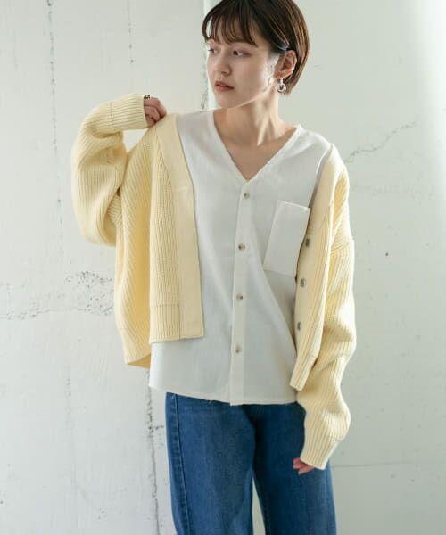 KBF / ケービーエフ ニット・セーター   ワイドニットカーディガン   詳細5
