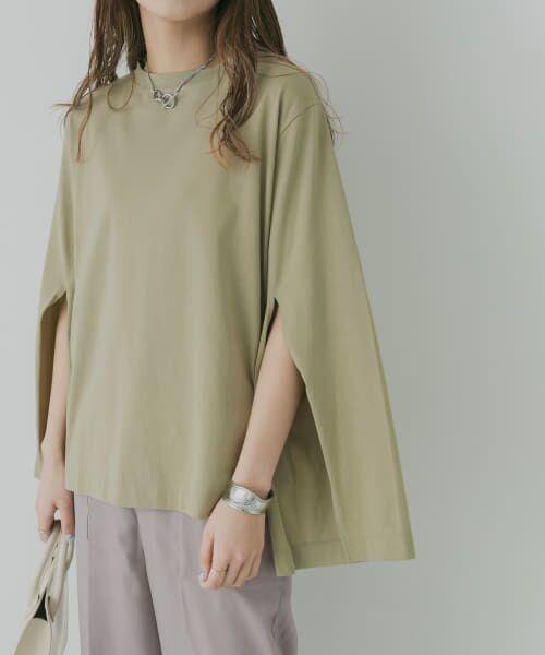 KBF / ケービーエフ Tシャツ | KBF+ 袖スリットプルオーバー | 詳細1