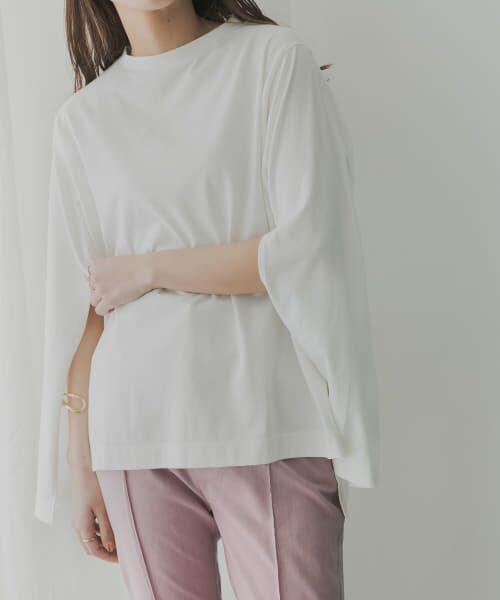 KBF / ケービーエフ Tシャツ | KBF+ 袖スリットプルオーバー | 詳細6