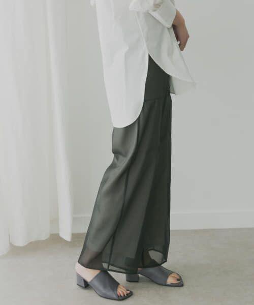 KBF / ケービーエフ その他パンツ   KBF+ シアーレイヤードパンツ   詳細2