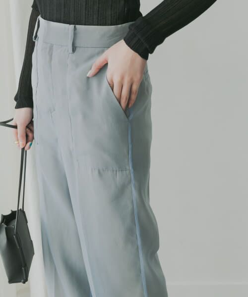 KBF / ケービーエフ その他パンツ   KBF+ シアーレイヤードパンツ   詳細5