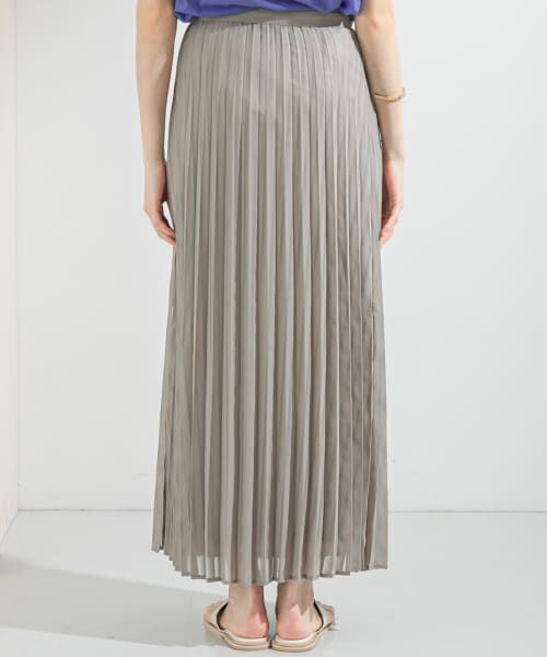 KBF / ケービーエフ スカート   シアーラッププリーツスカート   詳細26