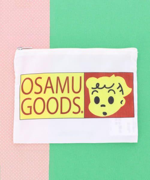KBFBOX / ケービーエフボックス ポーチ | OSAMU GOODS×KBFBOX ポーチ大(ジルロゴ)