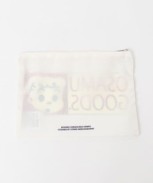 KBFBOX / ケービーエフボックス ポーチ | OSAMU GOODS×KBFBOX ポーチ大 | 詳細4