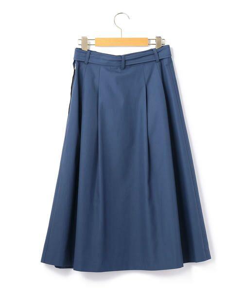 KEITH Lサイズ / キースエルサイズ ミニ・ひざ丈スカート | コットンシャンブレー スカート | 詳細1