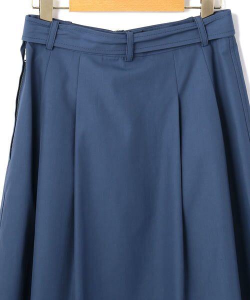 KEITH Lサイズ / キースエルサイズ ミニ・ひざ丈スカート | コットンシャンブレー スカート | 詳細3