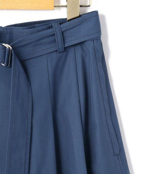 KEITH Lサイズ / キースエルサイズ ミニ・ひざ丈スカート | コットンシャンブレー スカート | 詳細4