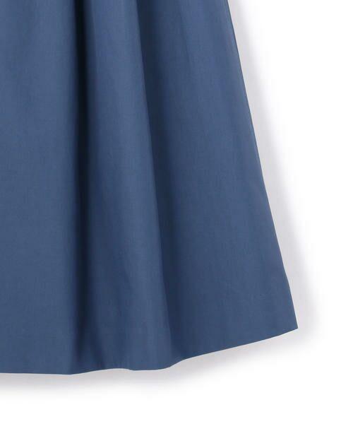 KEITH Lサイズ / キースエルサイズ ミニ・ひざ丈スカート | コットンシャンブレー スカート | 詳細5