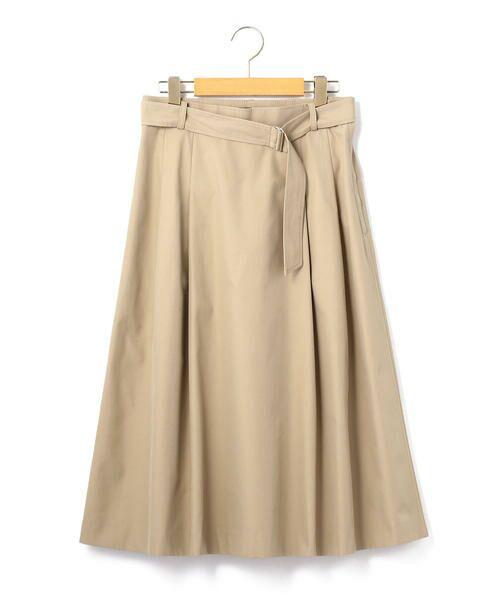 KEITH Lサイズ / キースエルサイズ ミニ・ひざ丈スカート | コットンシャンブレー スカート | 詳細7