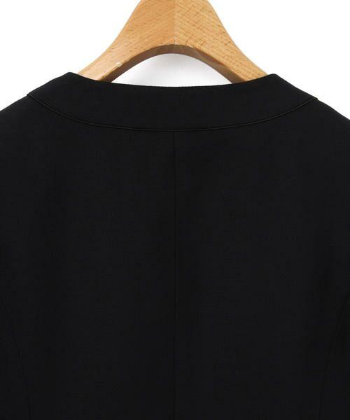 KEITH / キース テーラードジャケット | バーズアイ ノーカラージャケット | 詳細3