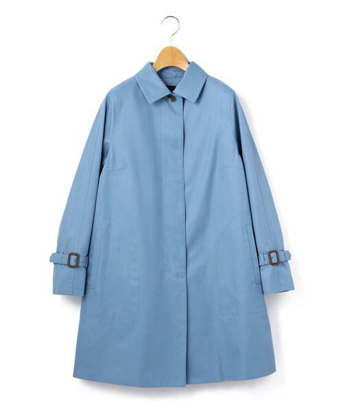 KEITH / キース トレンチコート   シャンブレーツイル コート(ブルー)