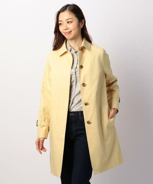KEITH / キース トレンチコート   シャンブレーツイル コート   詳細4