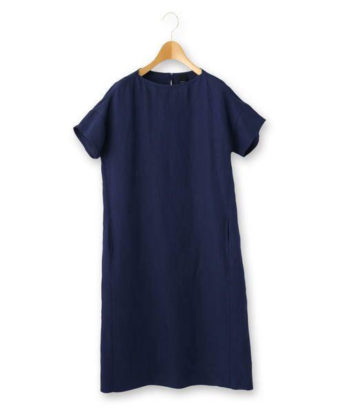 KEITH / キース ドレス   アトランティッククロス ワンピース(ネイビー)