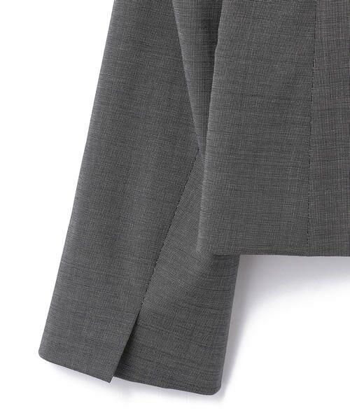 KEITH / キース テーラードジャケット   ライトピンチェック ジャケット   詳細6