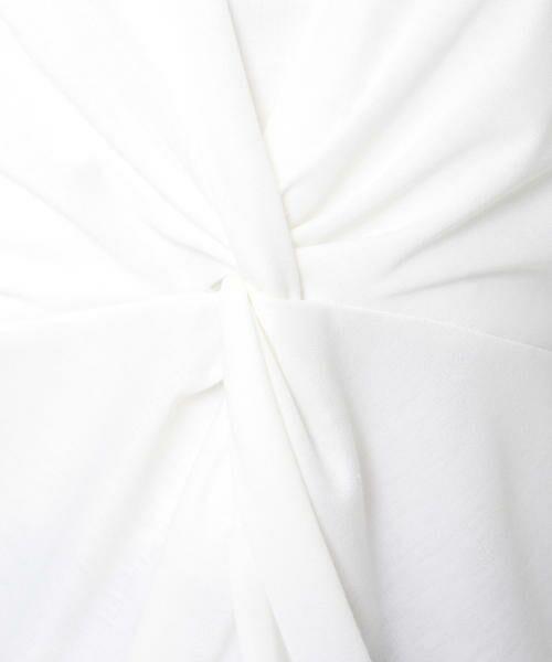 ketty / ケティ カットソー | プレシャススムースフロントねじりカットソー | 詳細4