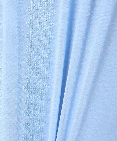ketty / ケティ カットソー   【洗濯可能】刺繍リボン使いリヨセル綿スムース   詳細9