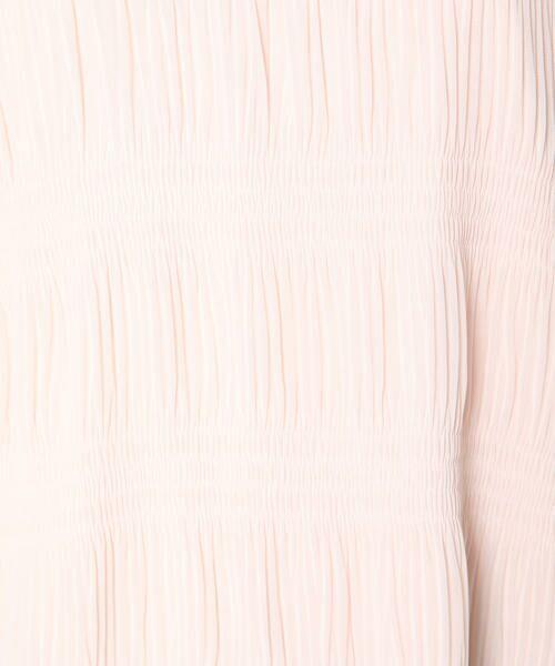 ketty / ケティ カットソー   【洗濯可能】プリーツ加工リヨセル綿スムースカットソー   詳細6